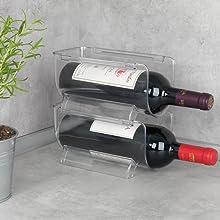 Maak het leven gemakkelijker met de praktische flessenhouder van Wenko.