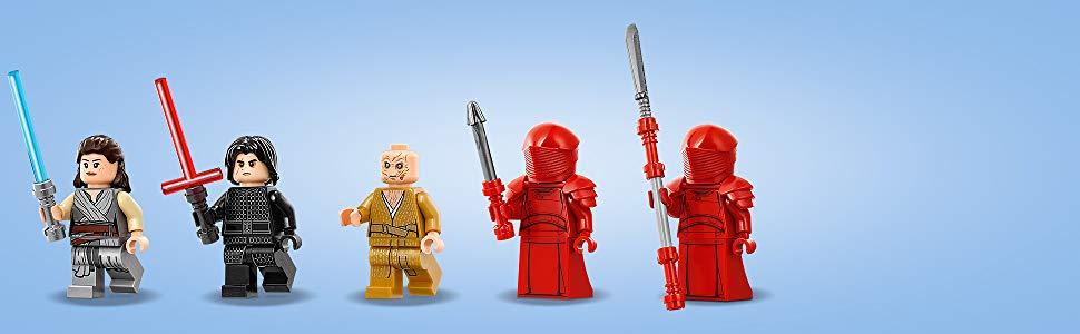 ¡Incluye 5 minifiguras LEGO Star Wars
