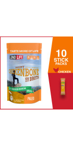 Reduced Sodium Chicken Bone Broth