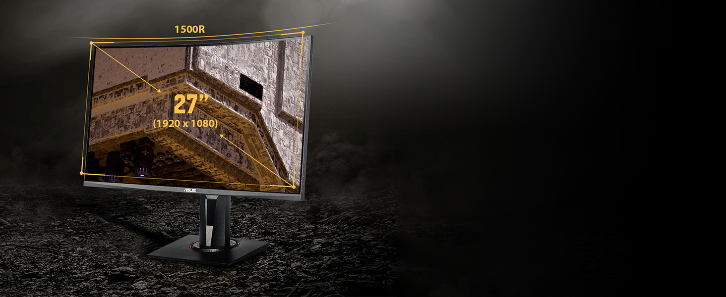 Terbaru Asus Tuf Gaming Vg27Vq 27 165Hz 1Ms Tahun Ini