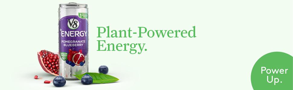 V8 +Energy. Plant-Powered Energy