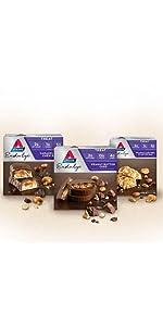 atkins treats, low carb, low sugar, diet bar