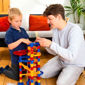 Super Marble Run, construction sets for kids