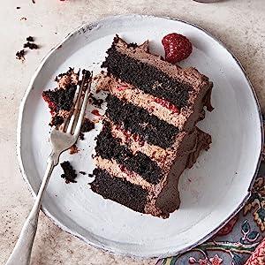 cake, chocolate, desserts, baking, flour, king arthur baking, cookbook, layer cake