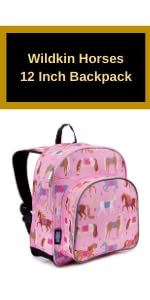 wildkin horses backpack
