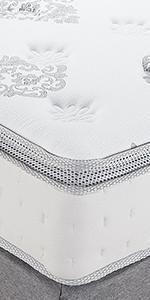 Queen 12 Inch innerspring memory foam mattress, hybrid mattress queen, best firm hybrid mattress