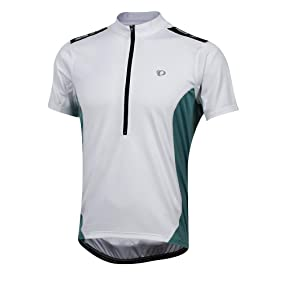 Pearl Izumi QUEST Mens Short Sleeve Cycling Jersey 11121407 White Large