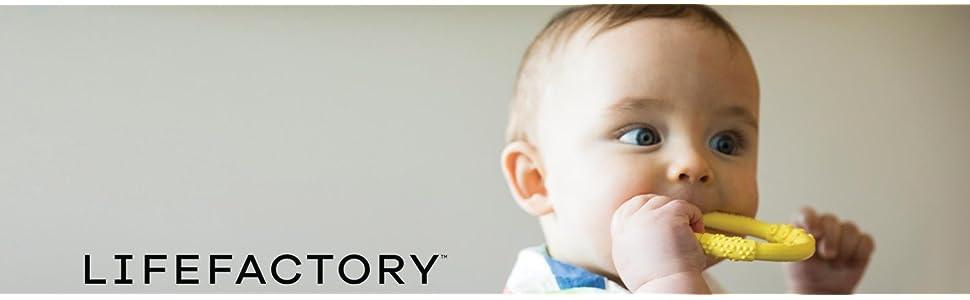 life factory, lifefactory, baby bundle, teether, baby bottle, bottle