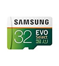 Samsung 32GB MicroSDHC EVO Select Memory Card w/ Adapter