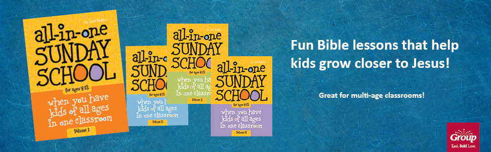 All-in-One Sunday School for Ages 4-12 (Volume 1): When you