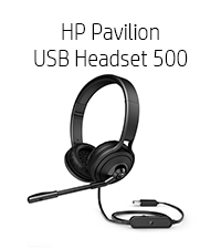 HP Pavilion USB 500 Headset