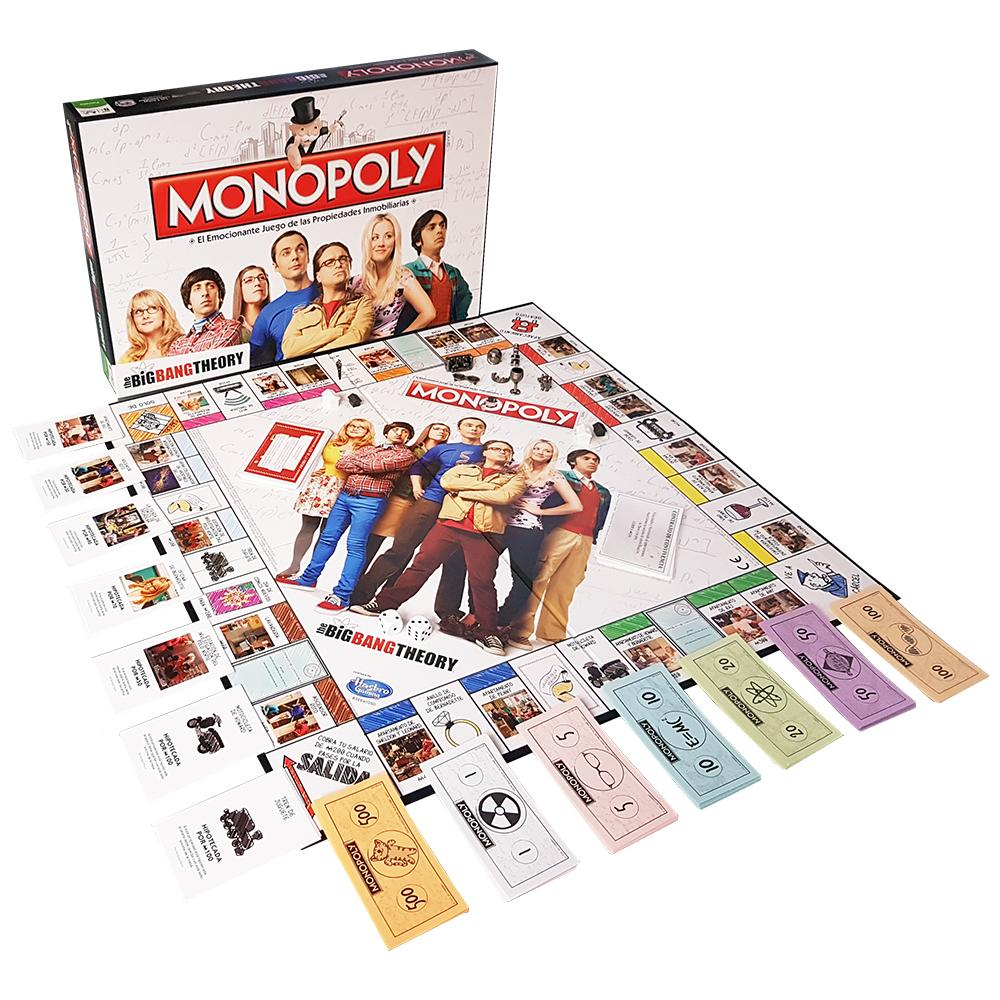 Monopoly The Big Bang Theory (Edición en Castellano): Amazon.es ...