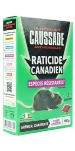 RATICIDES CANADIEN
