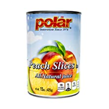 Polar Peach Slices All Natural Juice Canned Fruit
