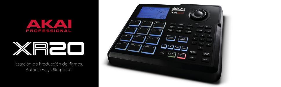 AKAI Professional XR20 - Caja de ritmos y producción de Beats con ...