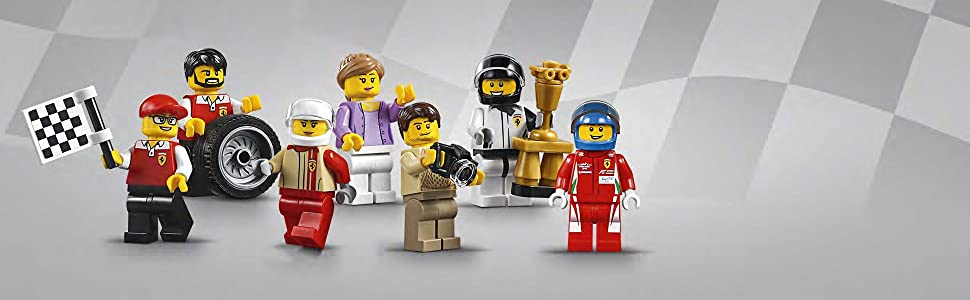 LEGO Speed Champions - Taller Definitivo de Ferrari, Set