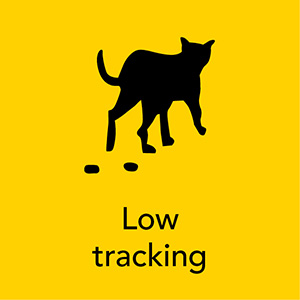 Tidy Cats low tracking