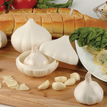 Garlic keeper, garlic saver, garlic storage, storage for garlic