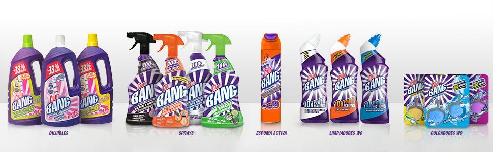 Cillit Bang Potente Limpiador Spray Manchas de Humedad y Moho - 750 ml