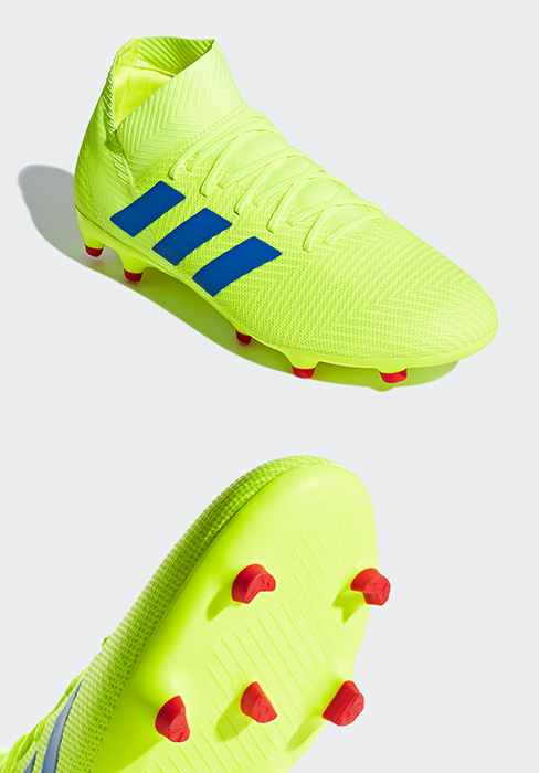 adidas Mens Nemeziz 18.3 Firm Ground Soccer Shoe