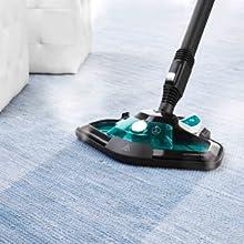 Efficiënte reiniging, ook van tapijten.