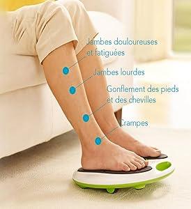 Symptômes de jambes lourdes et douloureuses
