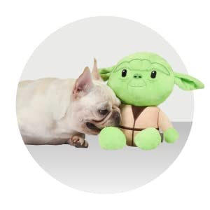 Starwars, dog, toys, plush, Yoda, Chewbecca, Darthvader