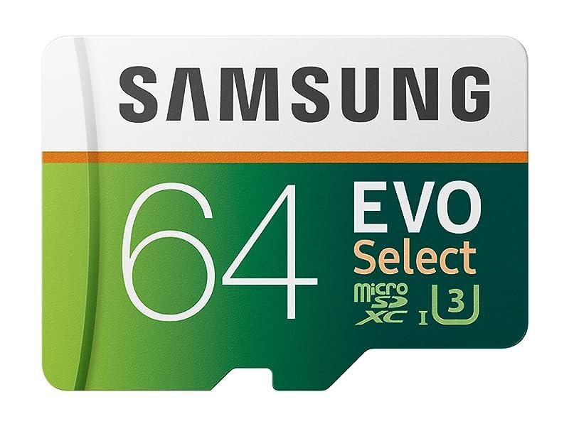 Samsung 64GB MicroSDXC EVO Select Memory Card
