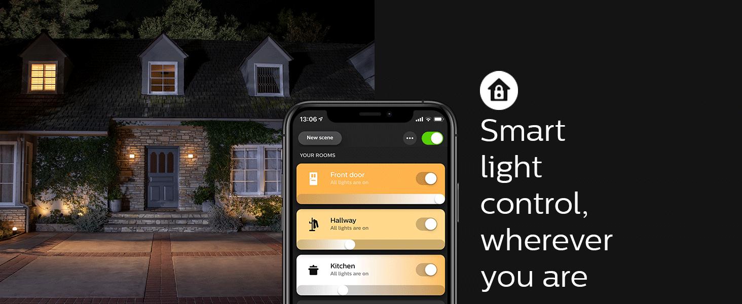 Philips;Hue;smart light;smart home;LED;lamps;decor;A19;white ambiance;app controlled;Hue Hub