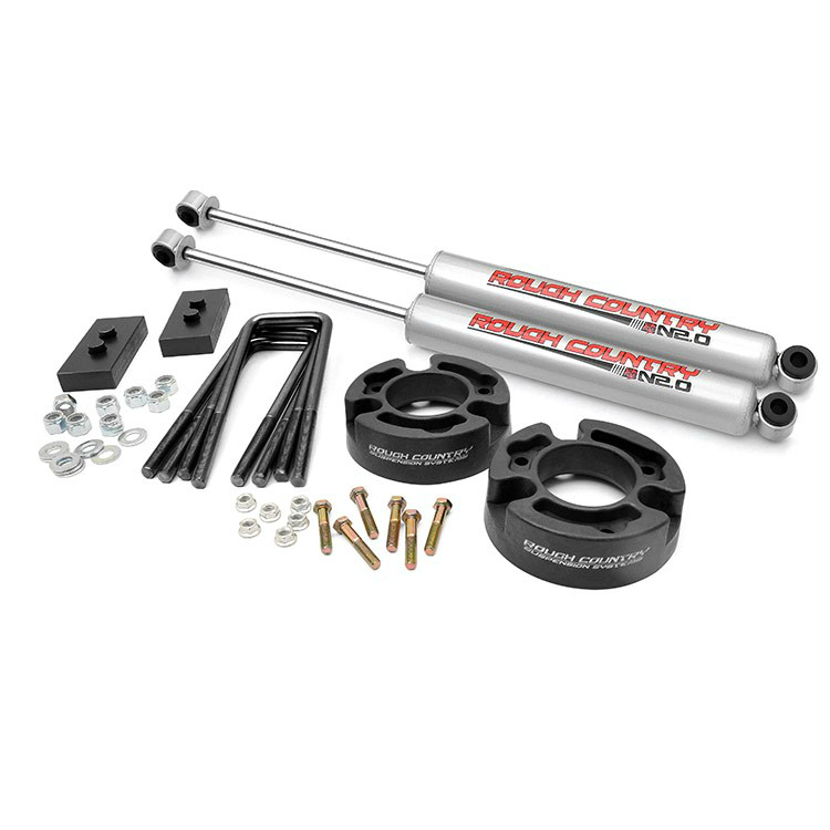 Rough Country 5 Inch Suspension Lift Kit: 2.5-inch Suspension Leveling Lift