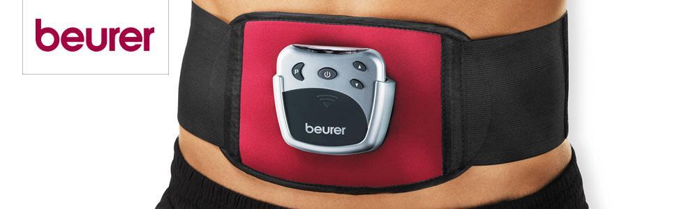 Der Bauchmuskelgürtel EM 30 von Beurer für einen definierten Sixpack und eine schlanke Taille