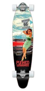 KIcktail longboard complete skateboard