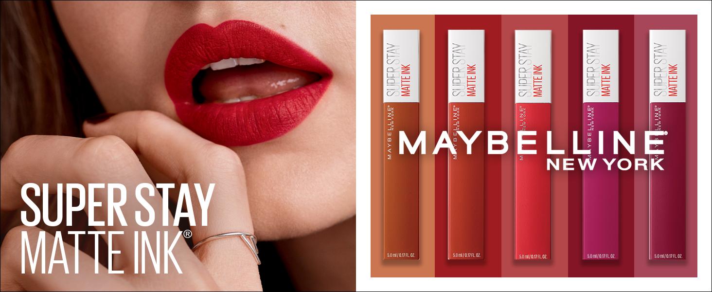super stay matte ink, long lasting, liquid lipstick, full wear, easy glide