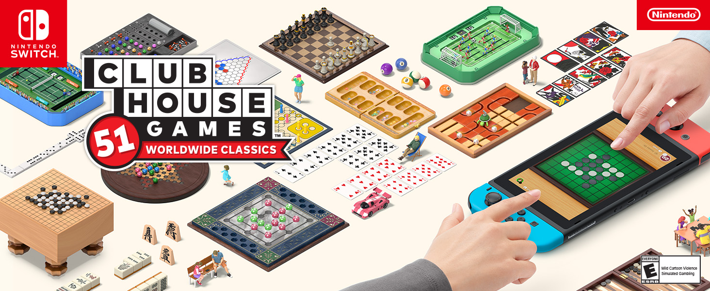 Clubhouse games 51 worldwide classics image