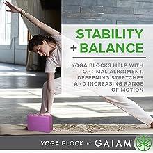 Meditation Ideal for Yoga Non-Slip Surface Provides Stability and Balance Pilates Workout YoTelim Yoga Block 2 Pack Soft EVA Foam Yoga Bricks