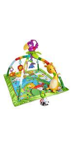 Fisher-Price - Gimnasio deluxe animalitos de la selva - juguetes bebe