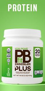 Vegan Organic Protein BetterBody Foods PBfit