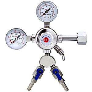 Kegco Dual Gauge Regulator