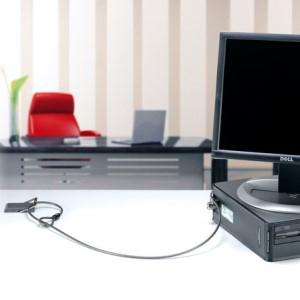 Kensington K64613WW - Punto de Anclaje de Cable de Seguridad para Montaje en Escritorio