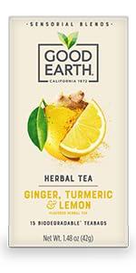 ginger turmeric lemon