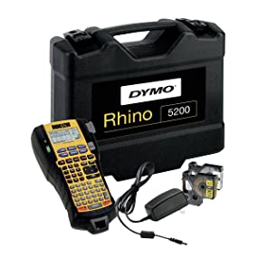 DYMO Rhino 5200 Industrial Label Maker - Hero Image