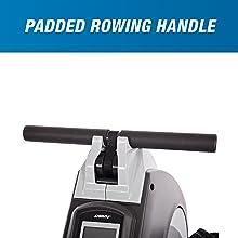 padded rowing handle
