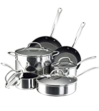 cookware, pots and pans, stainless steel cookware, pot, pan, stainless steel pan