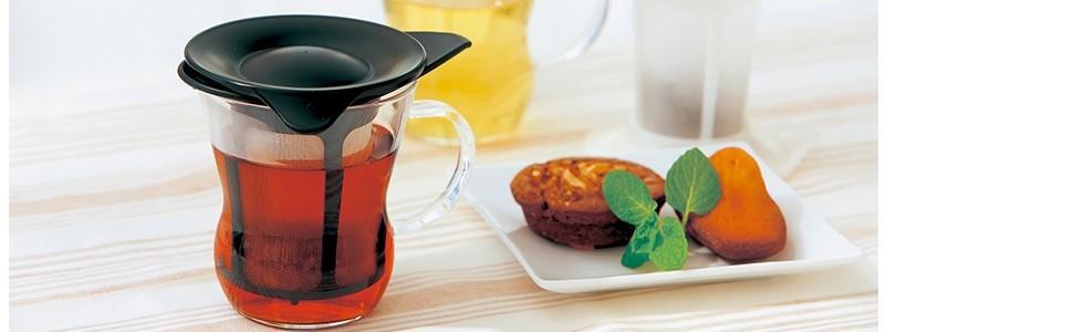 HARIO ハリオ はりお 耐熱ガラス たいねつ がらす TEE ティー お茶 おちゃ シンプル 簡単 カンタン 気軽 カワイイ 可愛い キレイ 綺麗  ワンパップ 3時のおやつ オヤツ
