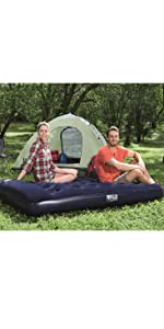 Bestway Easy Inflate Flocked Airbed 67225 - Colchón ...