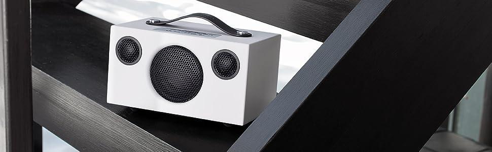 Audio Pro, Addon, C3, Wireless Speaker, Multi-room, Bluetooth. Portable, Scandinavian, White, Smart