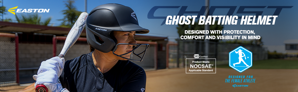 ghost fastpitch batting helmet