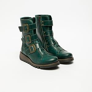 a10dd944 Fly London Women's Scop110fly Biker Boots: Amazon.co.uk: Shoes & Bags