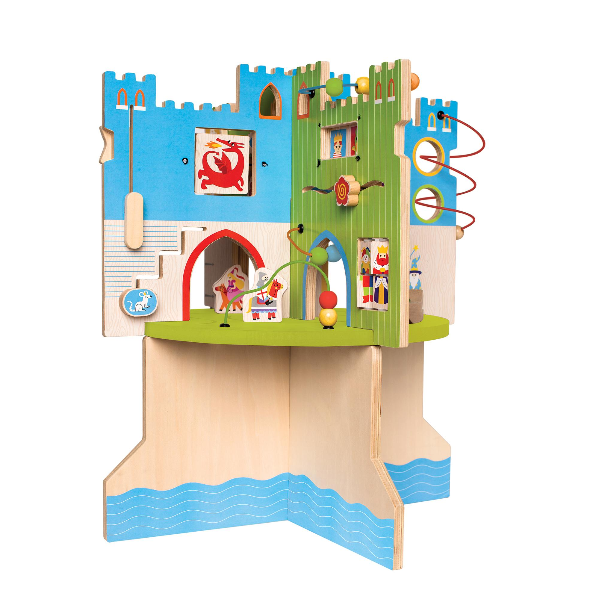 Toy Castles For Toddler Boys : Manhattan toy storybook castle wooden toddler activity