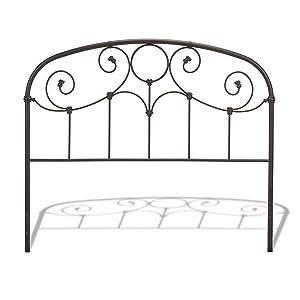 Amazon Com Fashion Bed Group Grafton Metal Headboard With